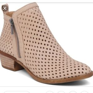 Lucky Brand Women's Perforated Basel Booties